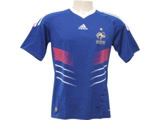 Camisa Masculina Adidas 487880 Franca Azul - Tamanho Médio