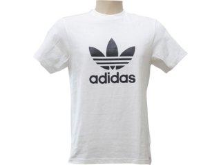 Camiseta Masculina Adidas P04154 Branco - Tamanho Médio