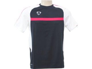 Camiseta Masculina Nike 382084 016 Preto/branco - Tamanho Médio
