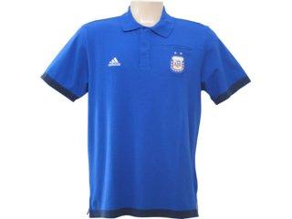 Camisa Masculina Adidas P41140 Azul - Tamanho Médio
