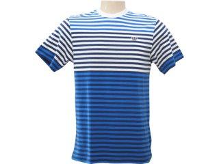 Camiseta Masculina Adidas P06367 Listrado - Tamanho Médio