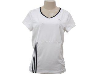 T-shirt Feminino Adidas 508295 Branco - Tamanho Médio