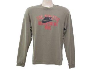 Camiseta Masculina Nike 258712 Verde - Tamanho Médio