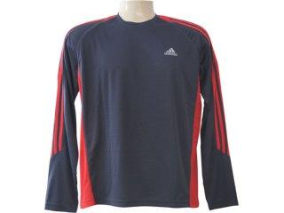 Camiseta Masculina Adidas E89602 Chumbo/vermelho - Tamanho Médio