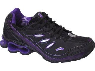 Tênis Feminino Olympikus Centurion 675 Preto/violeta - Tamanho Médio
