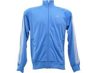 Jaqueta Feminina Adidas E14890 Azul/branco - Tamanho Médio