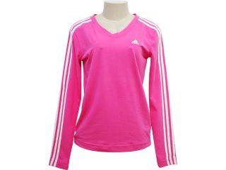 Camiseta Feminina Adidas 893029 Pink - Tamanho Médio