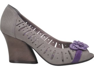 Sapato Feminino Ramarim 1117104 Rato/lilas - Tamanho Médio