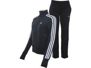 Abrigo Feminino Adidas E14706 Preto/branco - Tamanho Médio