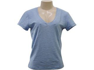 T-shirt Feminino Hering 42gz As107s Azul Bebê - Tamanho Médio