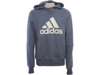 Blusão Masculino Adidas E17745 Grafite - Tamanho Médio