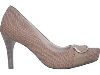 Sapato Feminino Ramarim 1168122 Amendoa - Tamanho Médio
