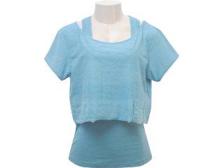 Blusa Feminina Hering 4c2b W9l07s Verde - Tamanho Médio