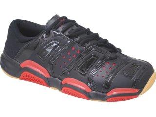 Tênis Masculino Adidas Court Stabil 653505 Preto/vermelho - Tamanho Médio