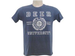Camiseta Masculina Hering 4c2f A6v10 Marinho - Tamanho Médio
