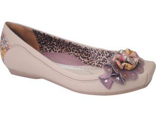 Sapato Feminino Campesi 1714 Avelã - Tamanho Médio