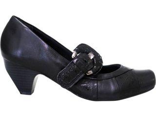 Sapato Feminino Campesi 1691 Preto - Tamanho Médio