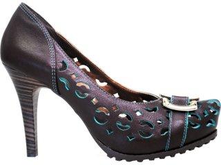 Sapato Feminino Ramarim 1123105 Marrom - Tamanho Médio