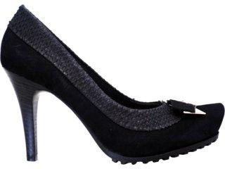 Sapato Feminino Ramarim 1123103 Preto - Tamanho Médio