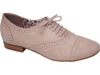 Sapato Feminino Oxford Bottero 140802 Nude - Tamanho Médio