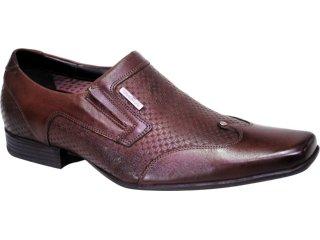 Sapato Masculino Ferracini 5927 Tabaco - Tamanho Médio