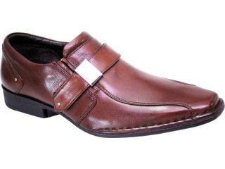 Sapato Masculino Ferracini 3472 Tabaco - Tamanho Médio