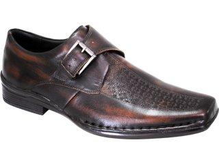 Sapato Masculino Ferracini 3720 Castanho - Tamanho Médio