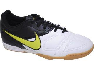 Tênis Masculino Nike Enganche 366231-131 Bco/prt/verde - Tamanho Médio