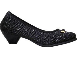 Sapato Feminino Bela Flor 3002 Preto - Tamanho Médio