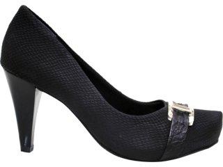 Sapato Feminino Ramarim 1169122 Preto - Tamanho Médio