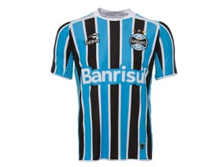 Camiseta Masculina Grêmio C7000m 2011 Tricolor - Tamanho Médio