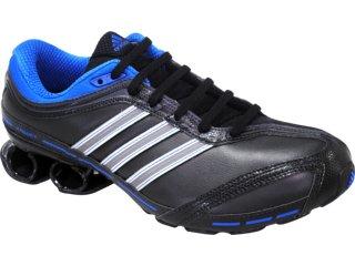 Tênis Masculino Adidas Komet Leather G43019 Pto/prata/azul - Tamanho Médio