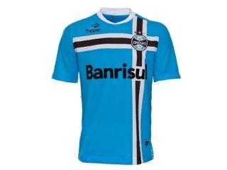 Camisa Masculina Grêmio C7001m 2011 Celeste - Tamanho Médio