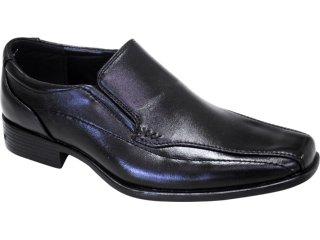 Sapato Masculino Fushida 89031 Preto - Tamanho Médio