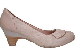 Sapato Feminino Campesi 1336 Avelã - Tamanho Médio