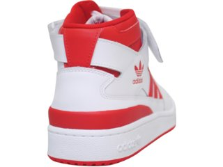 439df9b1b2a Tênis Adidas FORUM MID G19484P Brancovermelho Comprar na...