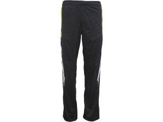 Calça Masculina Adidas V12601 Preto/amarelo - Tamanho Médio