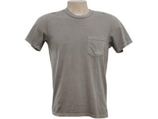 Camiseta Masculina Hering 4c3e Nlj10s Bege - Tamanho Médio