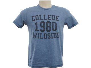 Camiseta Masculina Hering 4c2y As410s Azul Petróleo - Tamanho Médio