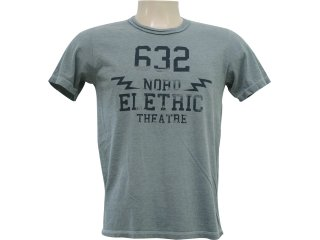 Camiseta Masculina Hering 4c36 E9310s Verde Estonado - Tamanho Médio