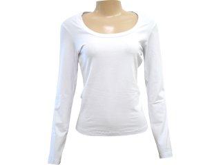 Blusa Feminina Hering 02c2 Noa00s Branco - Tamanho Médio