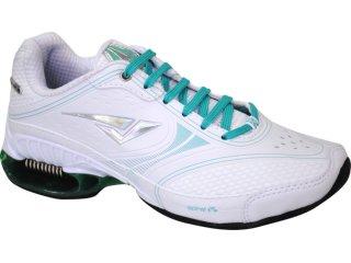 Tênis Feminino Bouts 9202 Branco/verde - Tamanho Médio