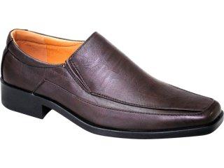Sapato Masculino Fushida 8881 Marrom - Tamanho Médio