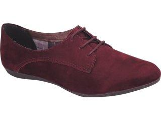 Sapato Feminino Oxford Bottero 140901 Bordo - Tamanho Médio