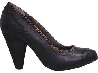 Sapato Feminino Cravo e Canela Cravo & Canela 62201 Preto - Tamanho Médio