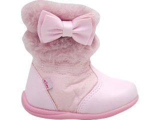 Bota Fem Infantil Kidy 903090008 Rosa - Tamanho Médio