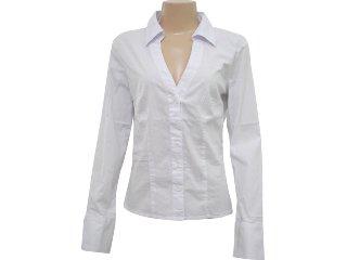 Camisa Feminina Hering H7fn Quibhw Branco - Tamanho Médio
