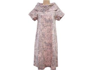 Vestido Feminino Hering Kk66 1bsi Rosa Antigo - Tamanho Médio
