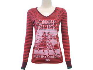 Blusa Feminina Dopping 015651001 Vermelho - Tamanho Médio