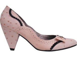 Sapato Feminino Cravo e Canela 66402/10467 Rose - Tamanho Médio